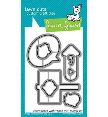 Fustelle Lawn Fawn - Open me
