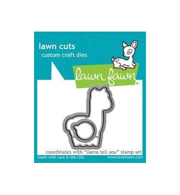 Fustelle Lawn Fawn - Llama...