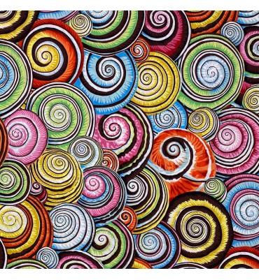 Spiral shells multi