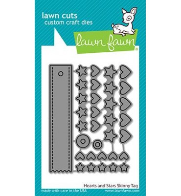 Lawn Fawn - hearts and...