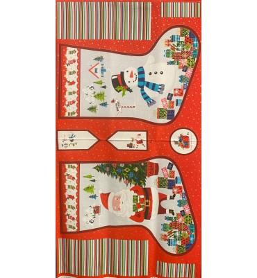 Santa express large stocking